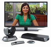 LifeSize Icon 600 - 10x Optical PTZ Camera - Digital MicPod, Single Display, 720P, Includes 1 seat of UVC Manager - Non-AES