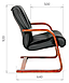 Кресло для посетителя Chairman 653 v, фото 4