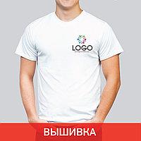 Футболка с вышивкой лого
