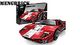 Конструктор XingBao xb-03011 Ford GT Красный Фантом  Red Phantom аналог лего LEGO, фото 2