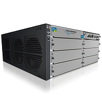 "J9642A  Коммутатор HP E5406 zl Switch with Premium SW (Managed, L3, 6 open I/O slots, without power supply(up to 2), 19"")"