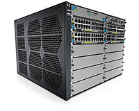 "J9643A Коммутатор HP E5412 zl Switch with Premium SW (Managed, L3, 12 open I/O slots, without power supply(up to 2), 19"")"