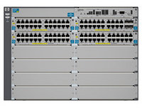 J9532A Коммутатор HP E5412-92G-PoE+/2XG v2 zl Swch w Pm SW (Managed, L3, 92*10/100/1000 PoE+, 2*SFP+, 8 open I/O slots, 2 PSU (2*1500W PoE+, up to 4),