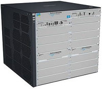 """J9640A Коммутатор HP E8206 v2 zl Swch w Premium SW (Managed, L3, 6 open I/O slots, without power supply(up to 2), 19"""")"""