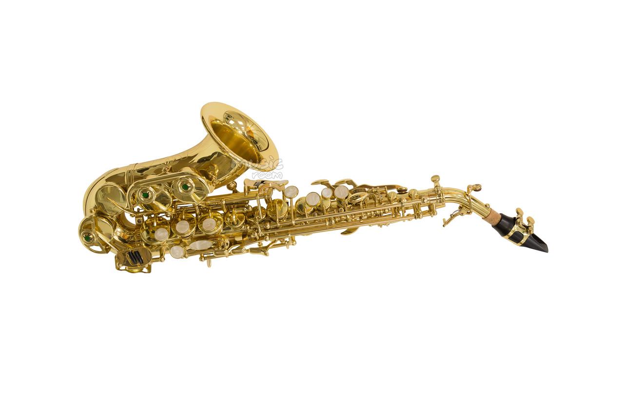 Саксофон изогнутый сопрано  Rowell