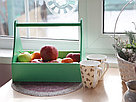 Деревянный ящик с ручкой (плотника) с покраской 30*20*22 см., фото 2