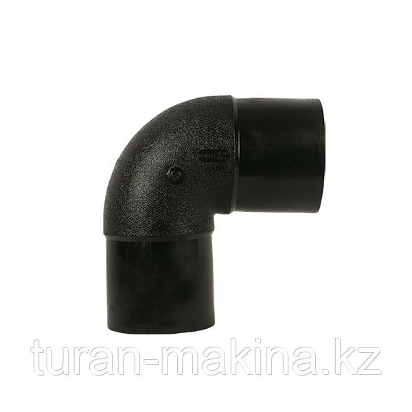 Полиэтиленовый отвод 90* 355 мм SDR 11/17