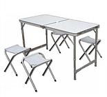 Стол складной  для пикника туристический 120 х 60 см и четыре стула., фото 2
