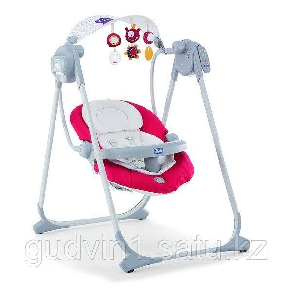 Chicco: Кресло-качалка Polly Swing Up Paprika 811143