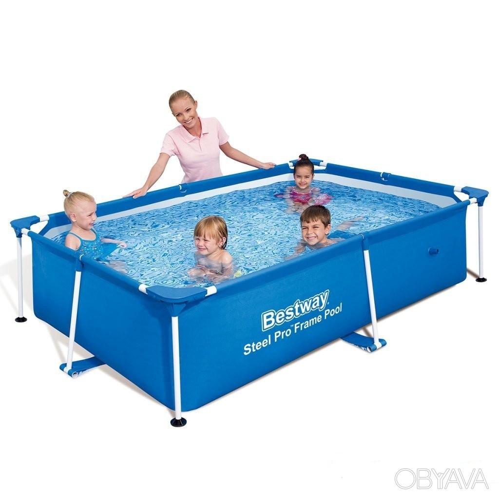 Каркасный бассейн Bestway 56402. Детский Splash and Play Frame 239 х 150 х 58 см