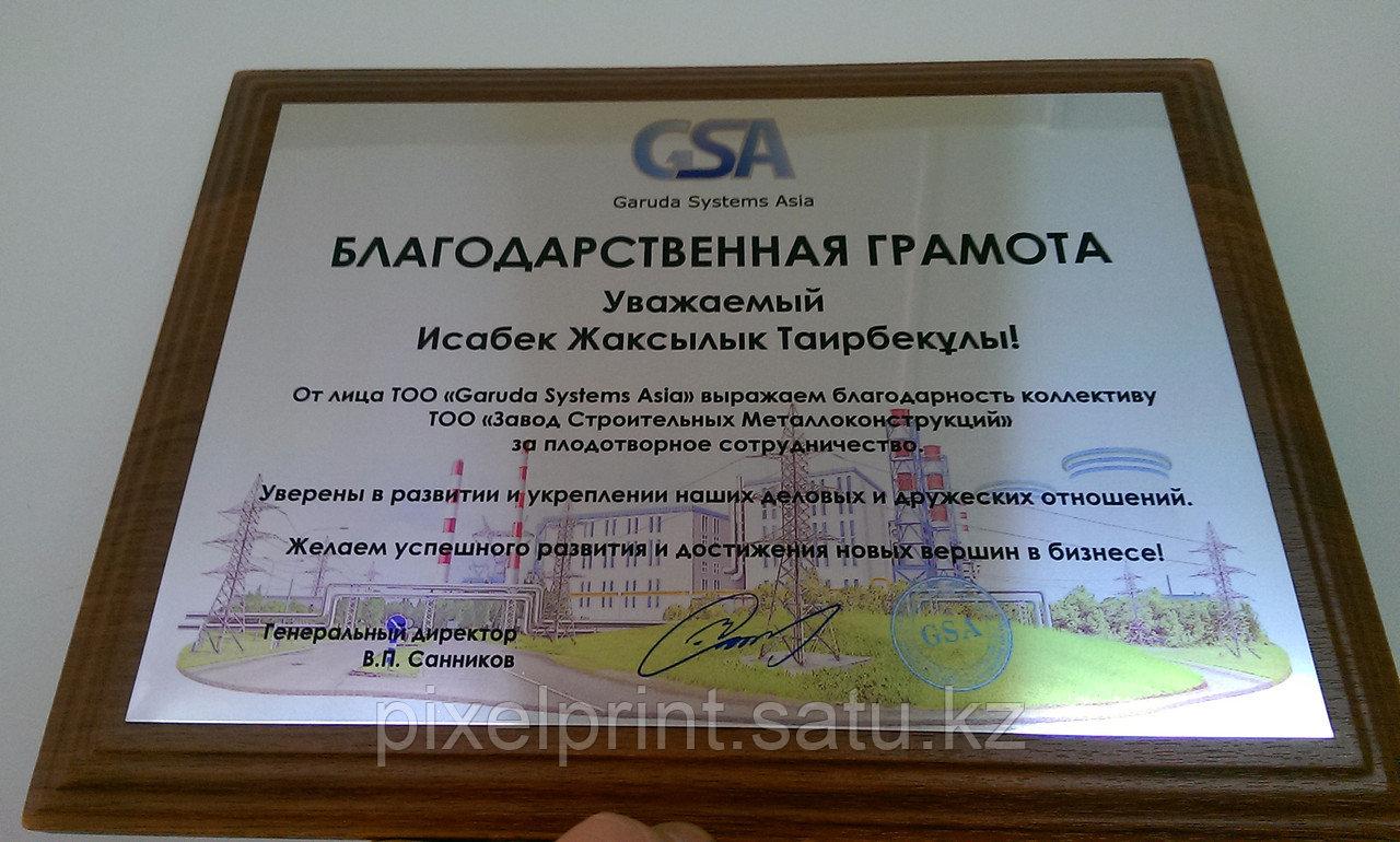 Наградной диплом
