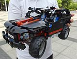 """Конструктор Decool 3341 (аналог Lego Technik 8081) джип """"Экстремальный внедорожник"""", 589 дет, фото 5"""