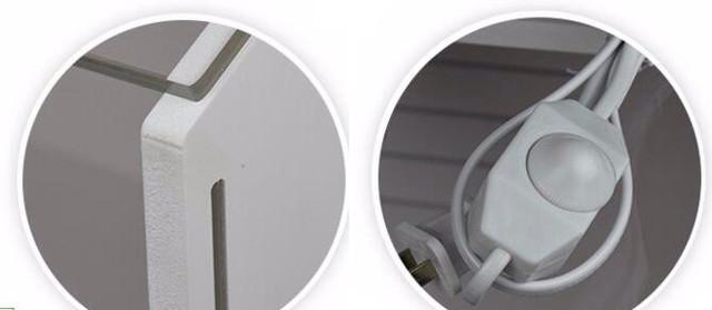 Изменяйте интенсивность работы лампы при помощи специального регулятора