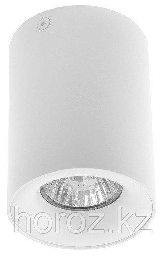 Светильник потолочный Luazon под лампу GU10, 110 х 80 мм, БЕЛЫЙ