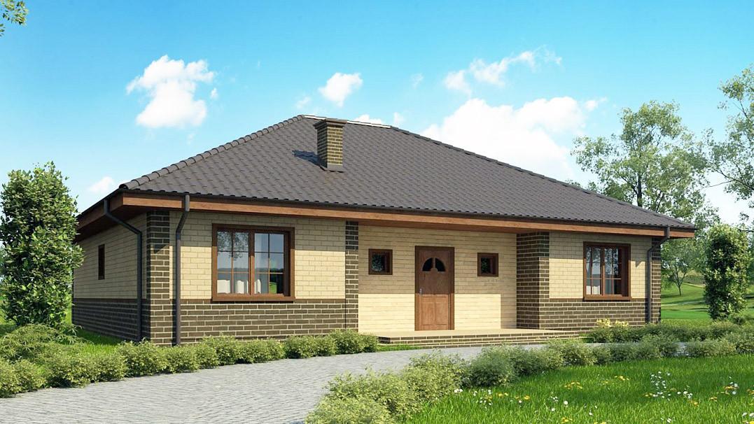 Строительство дома «под ключ» по проекту «Орион»