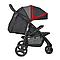 Прогулочная коляска Joie Litetrax 3 Black Chili, фото 6