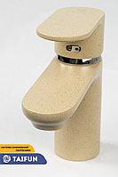 Смеситель Coloria 2521 A 45 J одноручный для умывальника монолитный, фото 1