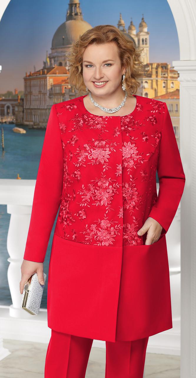 Жакет Ninele-5613, красный, 54
