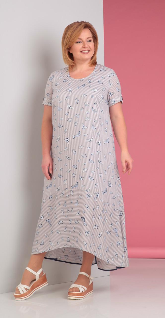 Платье Novella Sharm-2880, светлые тона, 60