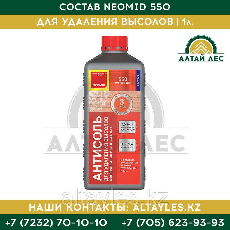 Состав для удаления высолов Neomid 550 | 1 л.