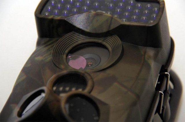 Система из 3-х PIR датчиков позволяет ловушке обнаруживать движение в секторе 180 градусов перед собой!