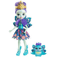 Mattel Enchantimals Кукла Пэттер Павлина, 15 см, фото 1