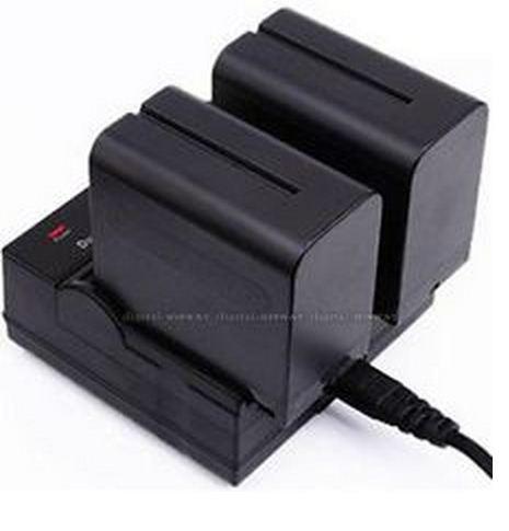 Зарядное устройство для 2-х аккумуляторов SONY NP-F970/NP-F770/NP-F550/NP-F570 и т.д.