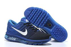 Кроссовки Nike Air Max 2017 Black Royal Blue