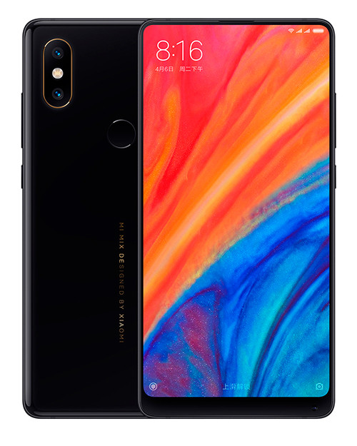 Смартфон Xiaomi Mi Mix 2S 64Gb Black