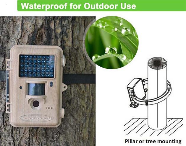 Камера, имеющая класс защиты IP67, без проблем работает в условиях повышенной влажности