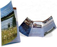 Печать буклетов, лифлетов, листовок, еврофлаеров по индивидуальному заказу
