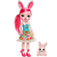 Mattel Enchantimals Большая кукла с любимой зверюшкой, фото 1