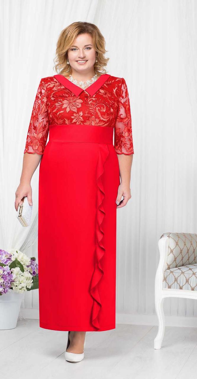 Платье Ninele-7206, красный, 50