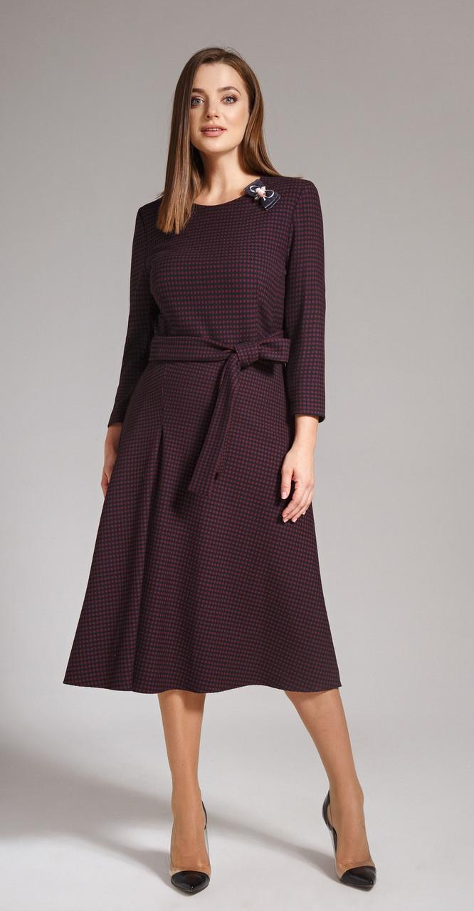 Платье Anna Majewska-1142, темные тона, 56