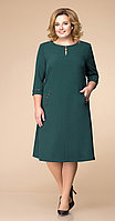 Платье Romanovich-1-1729, зелень, 52