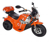 Электро-Мотоцикл AIM BEST MD-1188, 6V/4Ah*1, колеса  пластик 90х43х54 см, Оранжевый