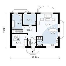 Строительство дома «под ключ» по проекту «Медея», фото 3