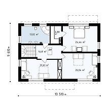 Строительство дома «под ключ» по проекту «Медея», фото 2