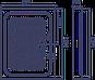 Душевой поддон ER 120H  1200*900*150 (Акрил), фото 2