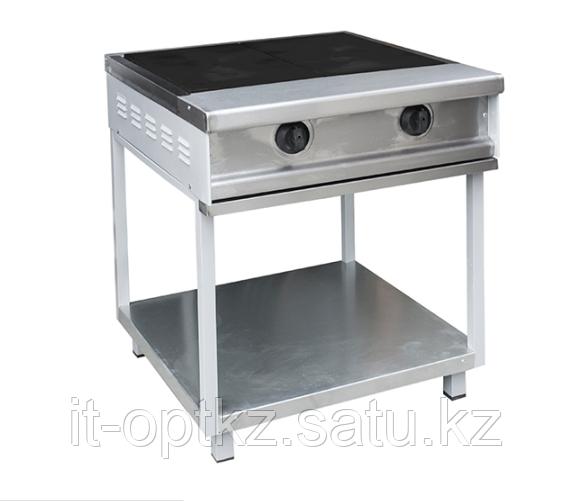 Плита электрическая 2-х конфорочная без жарочного шкафа ПЭП-0,34М (725х770х840(860) мм, 8кВт, 380В)