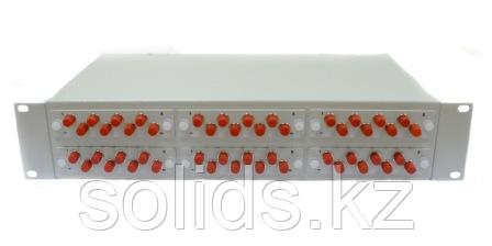 Оптический кросс 2U укомплектованный на 32 порта FC/UPC