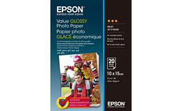 Фотобумага 10x15 Epson C13S400037 Value Glossy Photo Paper 20 sheet
