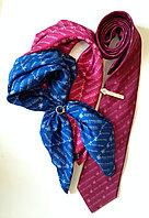 Платки с логотипом, галстуки с логотипом