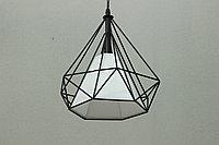 Одноламповый светильник в стиле LOFT черный, фото 1