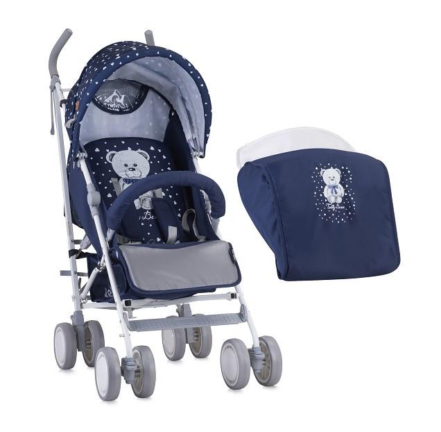 Прогулочная коляска Bertoni Fiesta Dark Blue Teddy Bear 1832