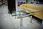 Кофейный столик из нержавеющей стали на заказ, фото 3