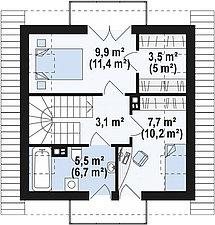 Строительство дома «под ключ» по проекту «Никанор», фото 3