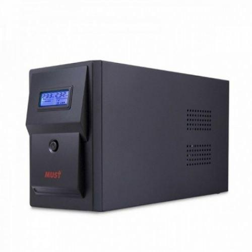 CW 2110 MUST line-interactive UPS 1500VA LCD USB RJ45 battery: 12V9AH*2 SCHUKO output