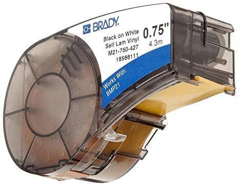 Картридж к принтеру BRADY BMP21  самоламинирующаяся  этикетка Brady B-427 для маркировки провода