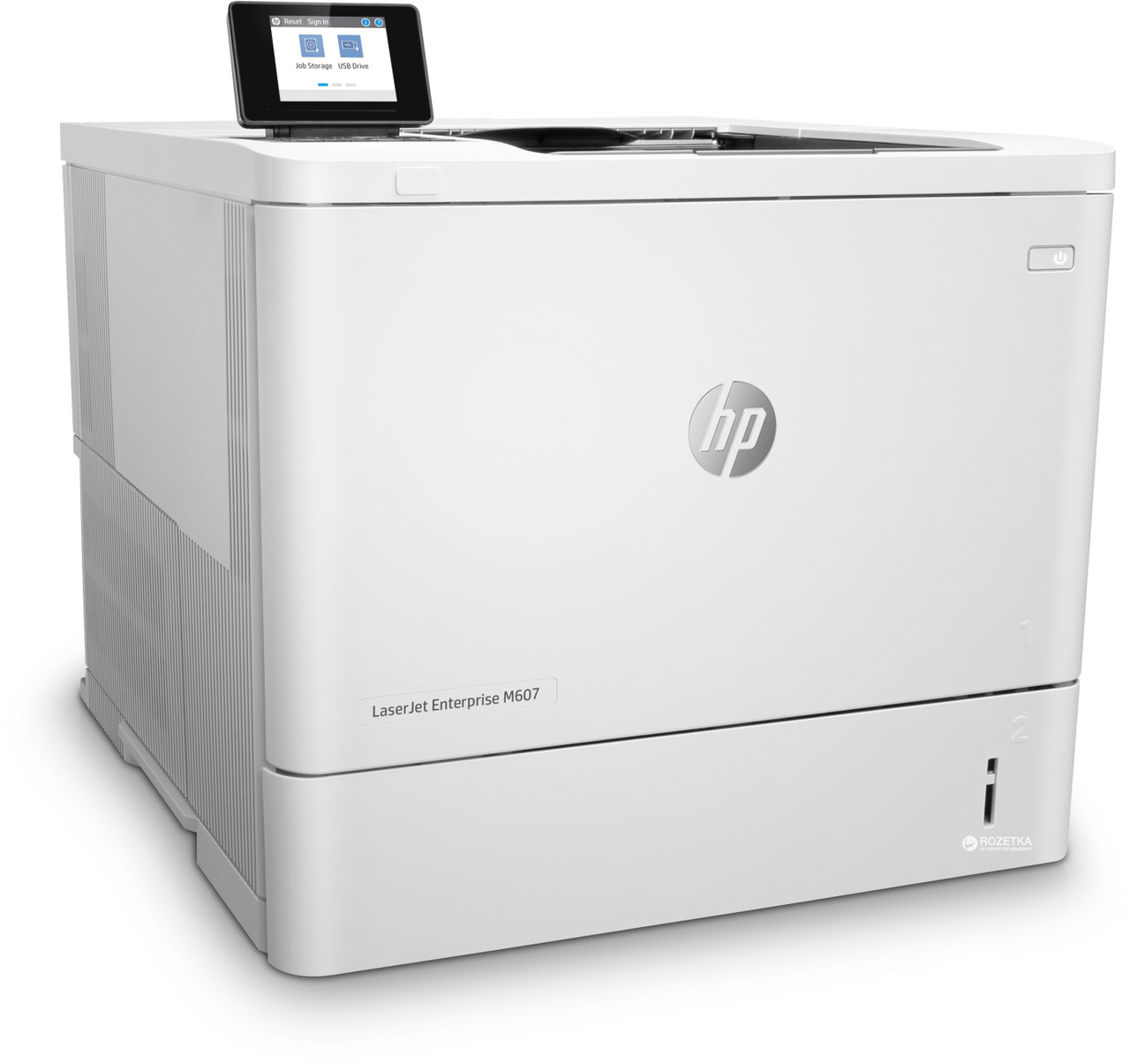 Лазерный принтер для черно - белой печати HP LaserJet  Enterprise M607n